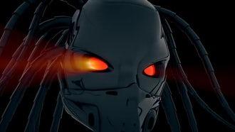 Cyborg Head VJ Loop: Motion Graphics