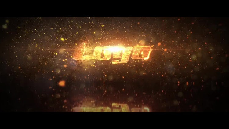 Elegant Fire Logo: After Effects Templates