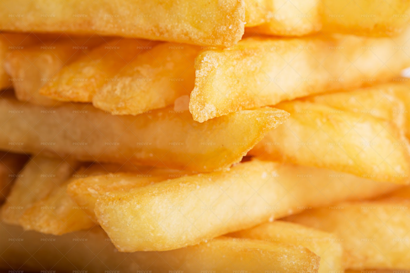 Pile Of French Fries: Stock Photos