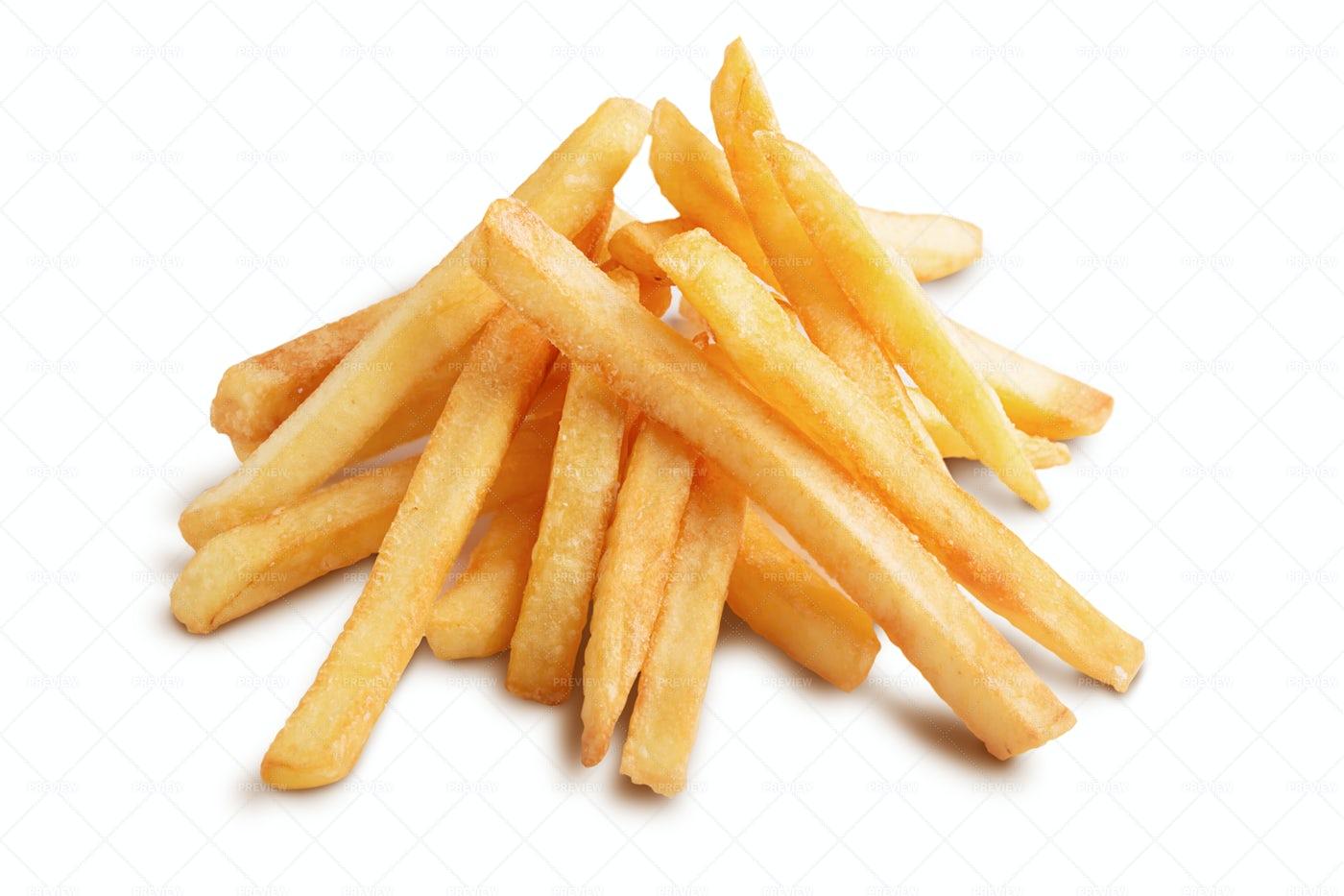 Pile Of Fries: Stock Photos