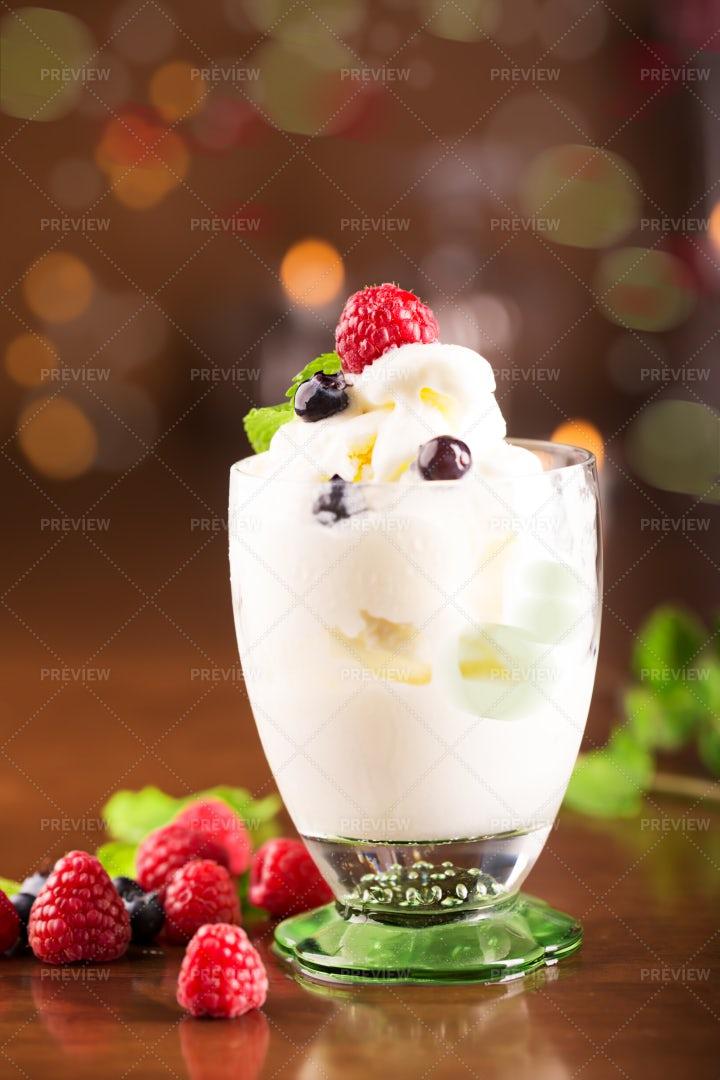 Ice Cream Smoothie: Stock Photos