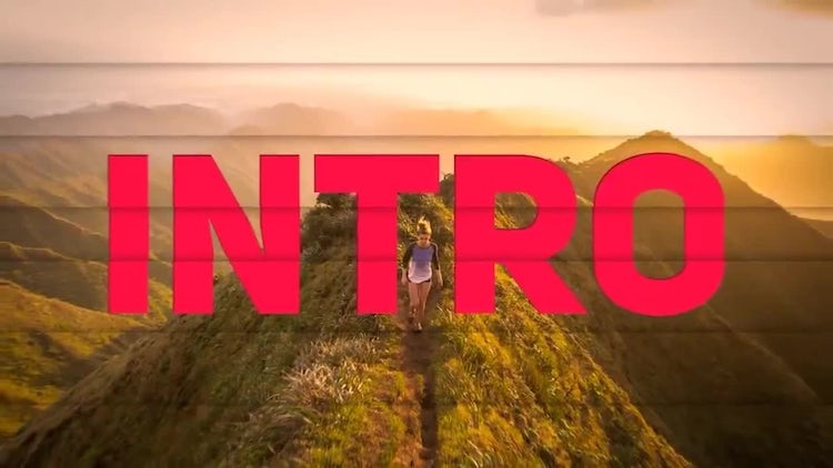 Fast Intro: After Effects Templates