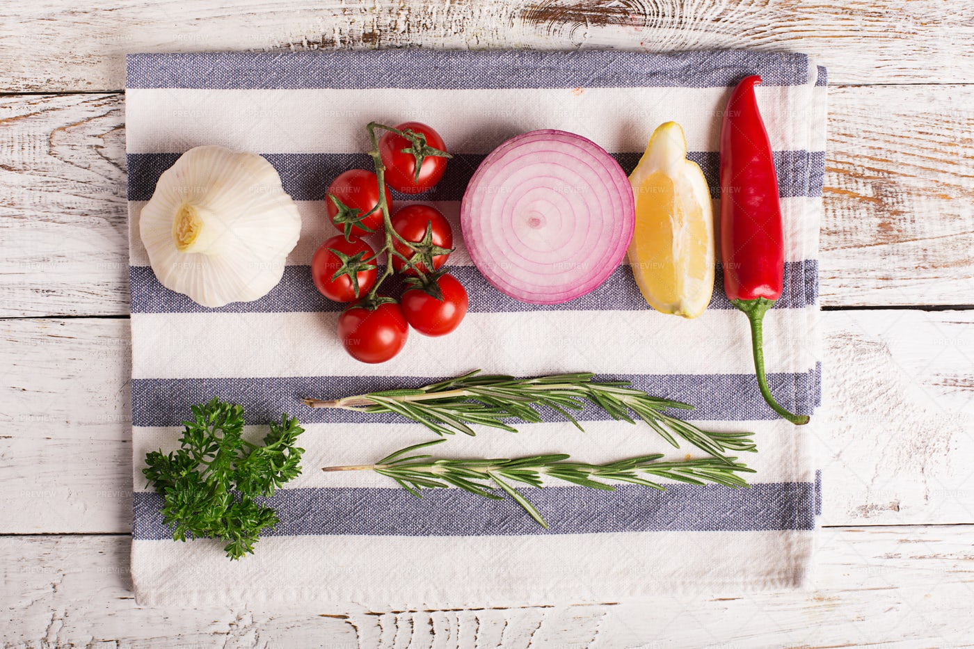 Vegetables And Spices: Stock Photos