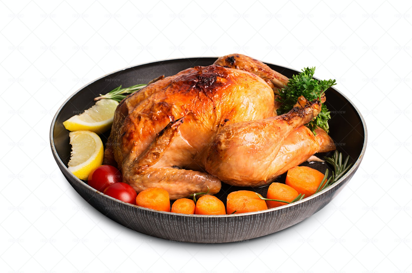 Chicken And Vegetables: Stock Photos
