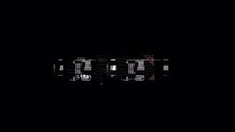 Grunge Glitch Logo: Premiere Pro Templates