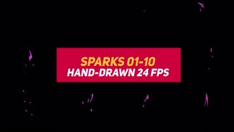 Liquid Elements Sparks 01-10: Motion Graphics
