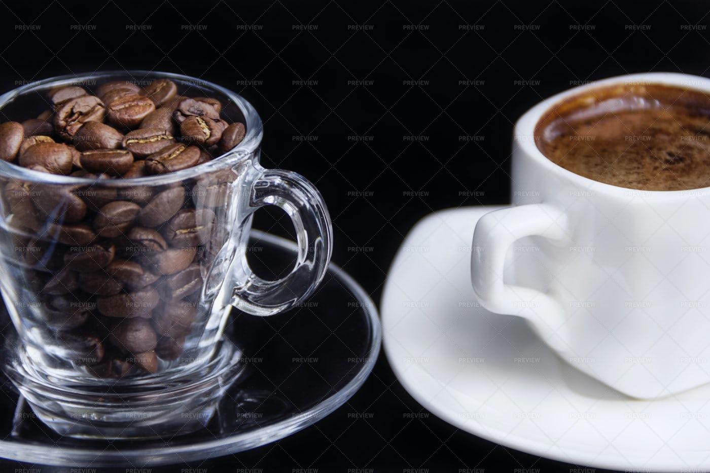 Aromatic Morning Coffee: Stock Photos