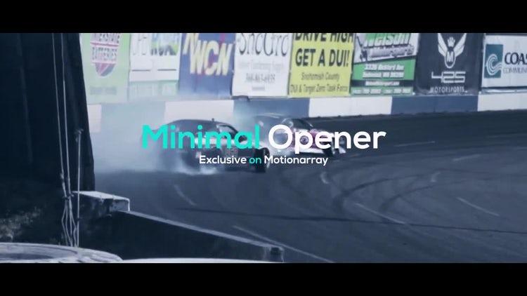 Minimal Opener: Premiere Pro Templates