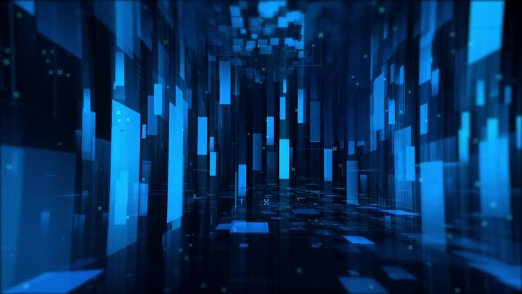 Digital Room Background: Stock Motion Graphics