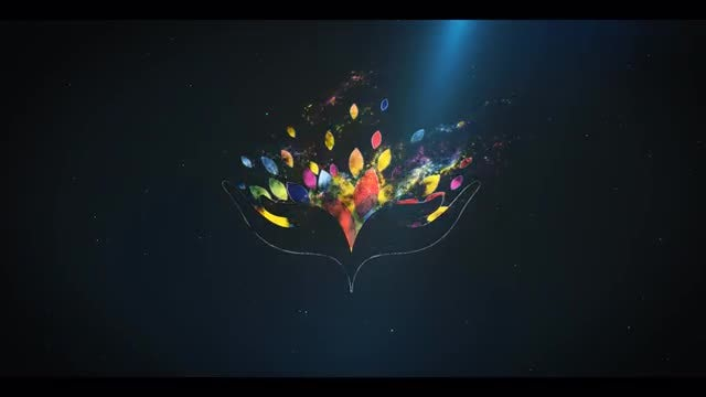 Cinematic Particle Logo Reveal: After Effects Templates