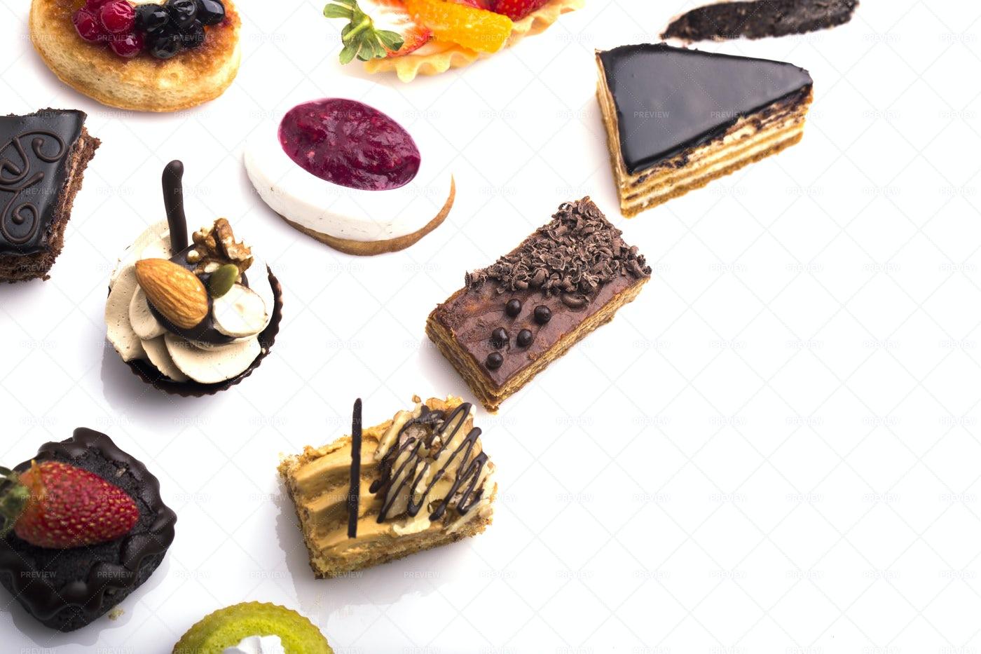 Dessert Canapes: Stock Photos