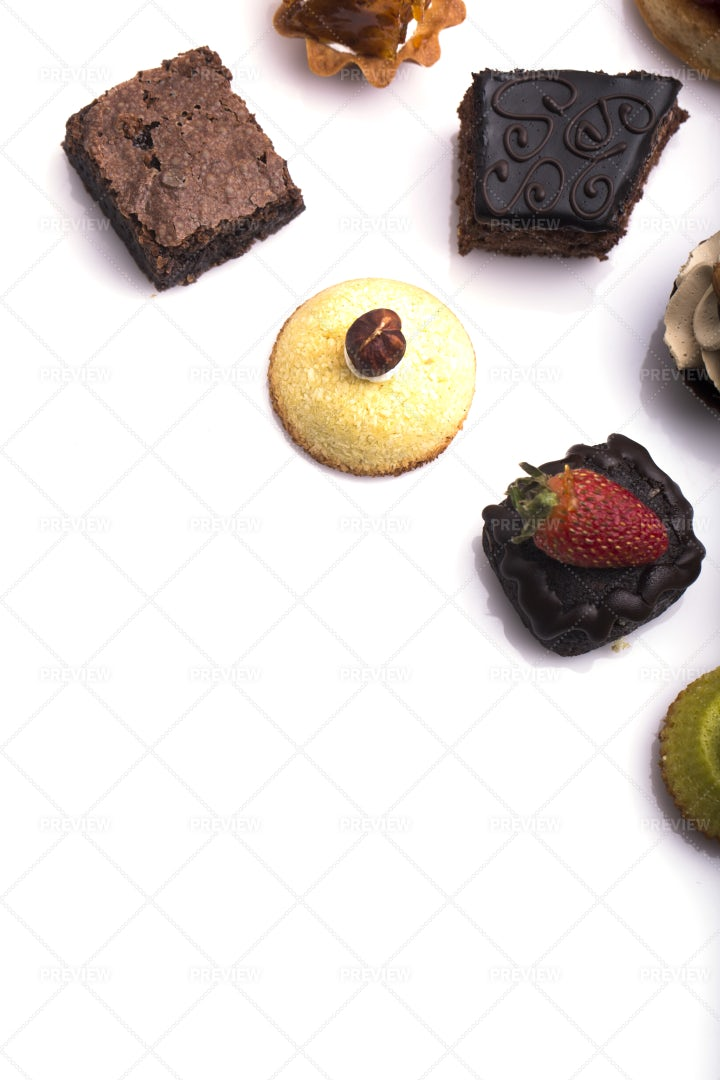 Sweet Canapes: Stock Photos