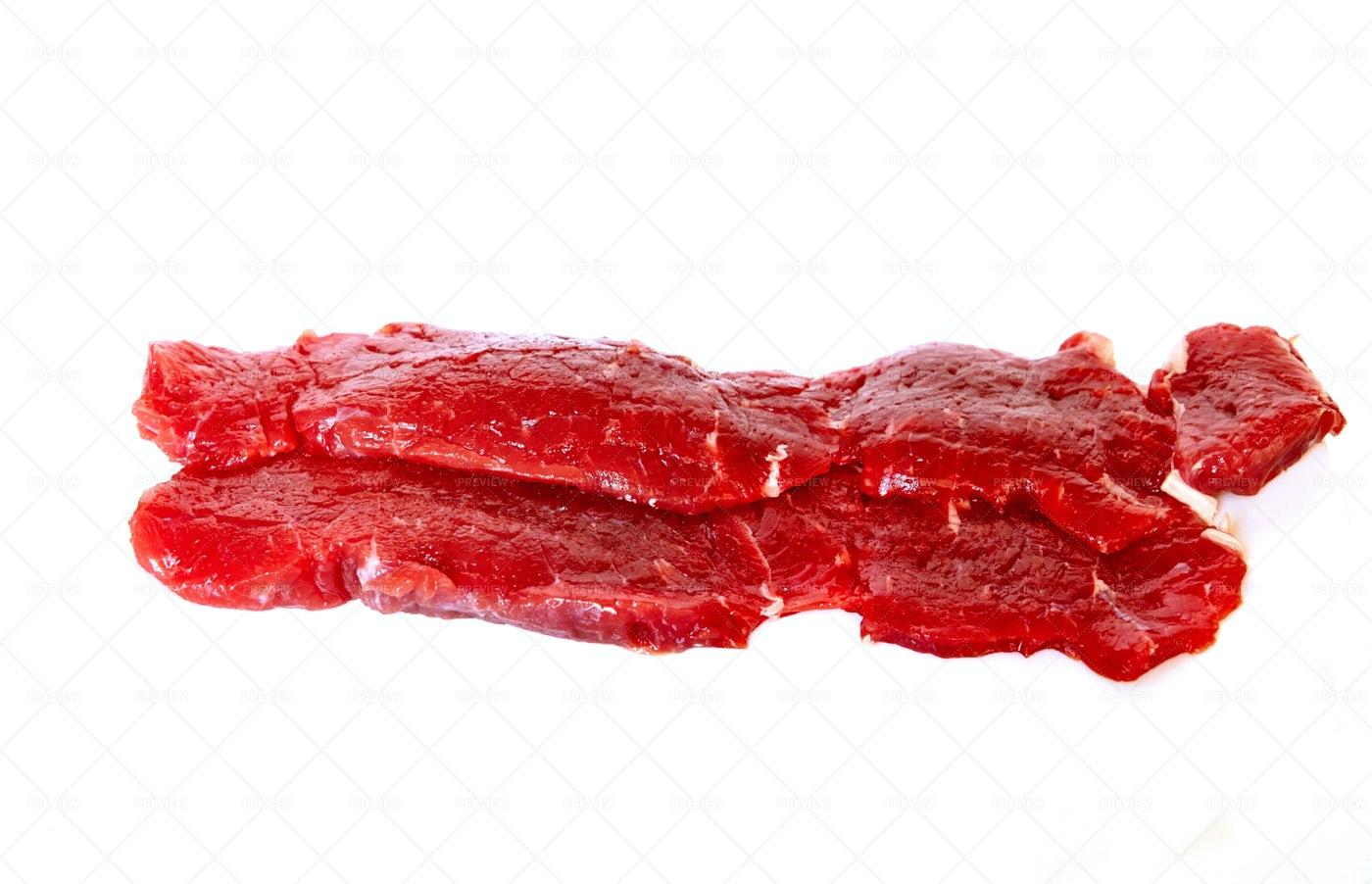 Beef Sirloin Steak: Stock Photos