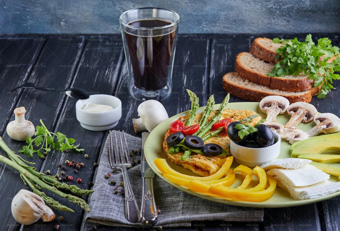 Breakfast Of Vegetables: Stock Photos