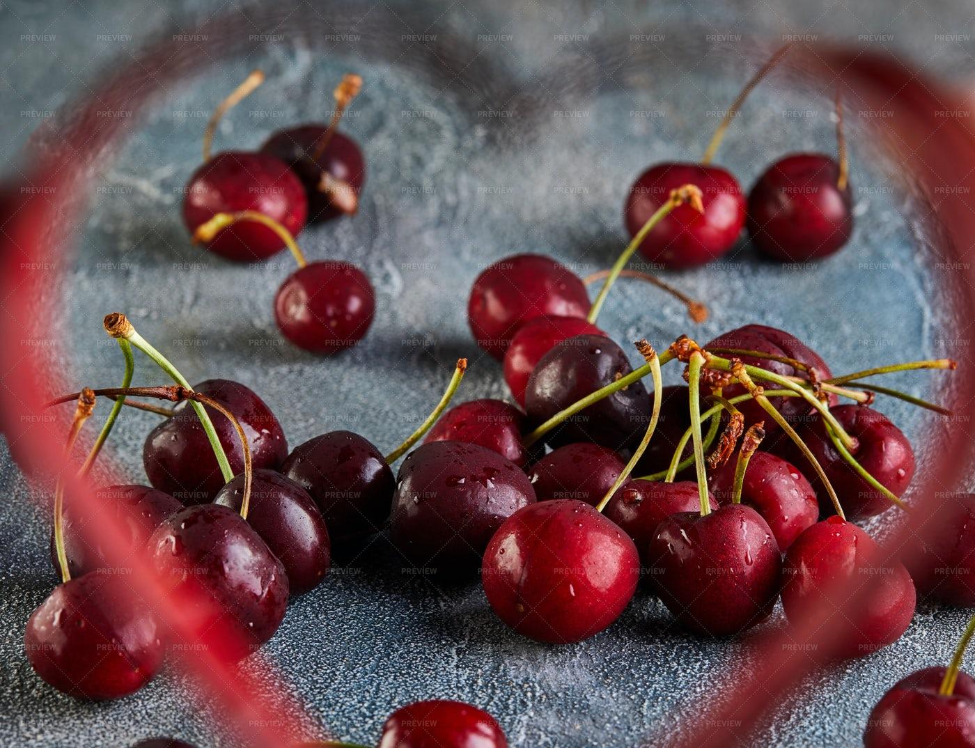 Fresh Cherries: Stock Photos