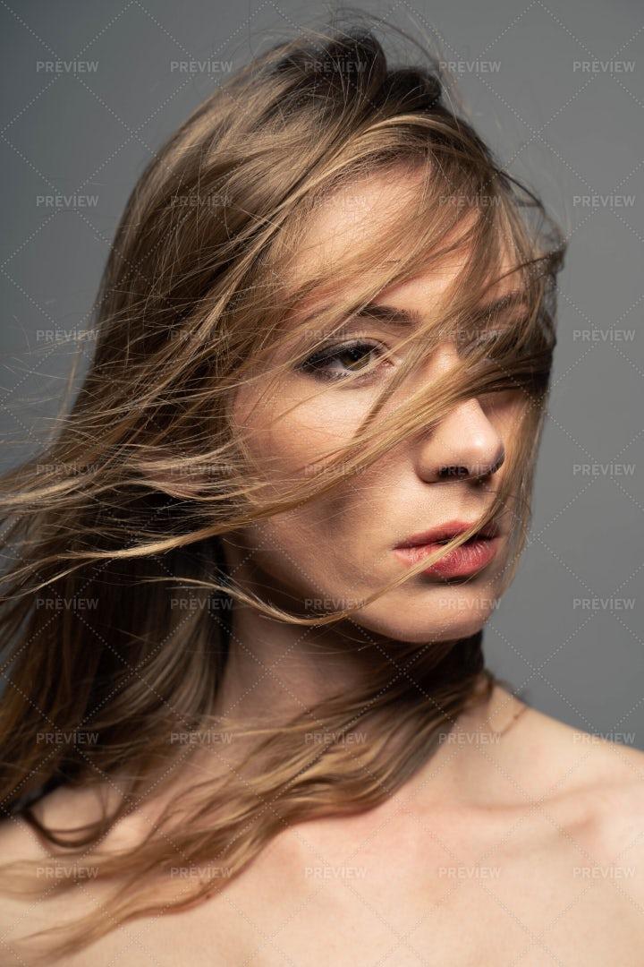 Messy Hair: Stock Photos