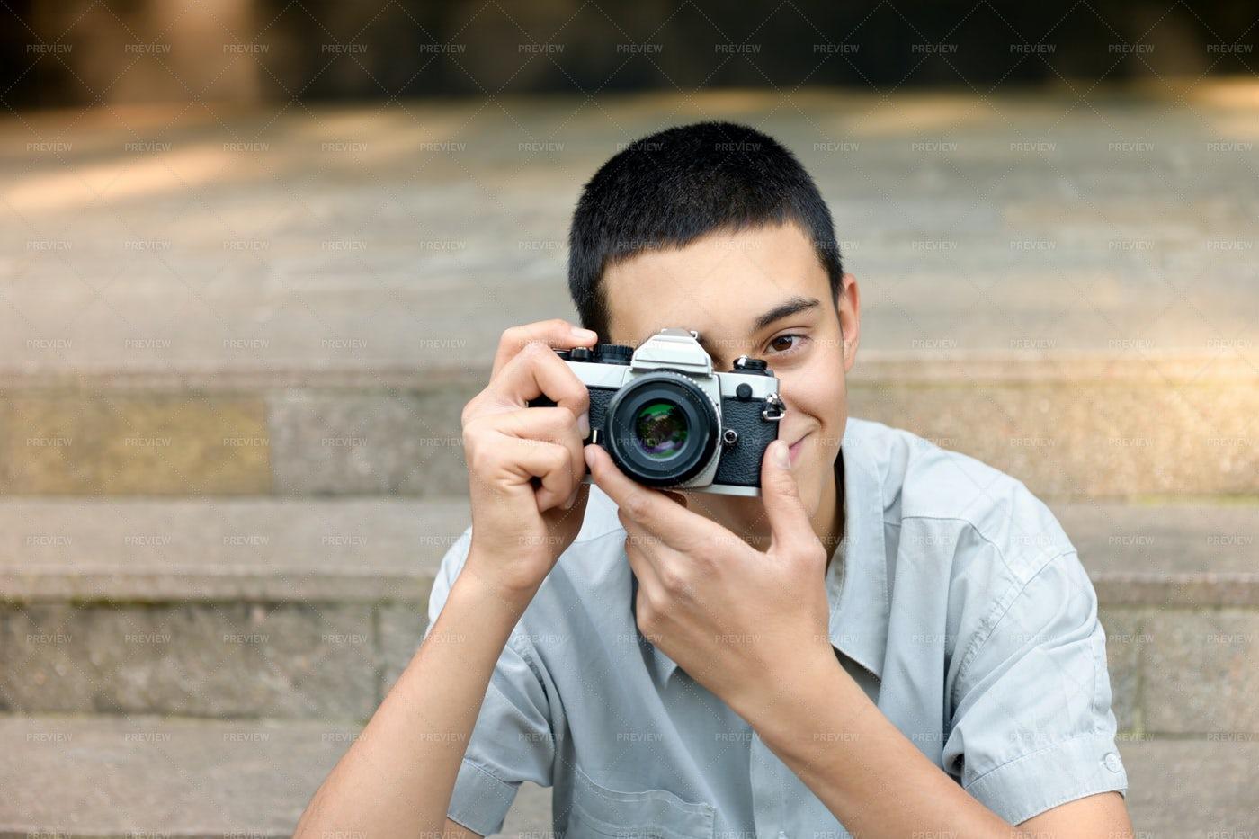 Teen Photographer: Stock Photos