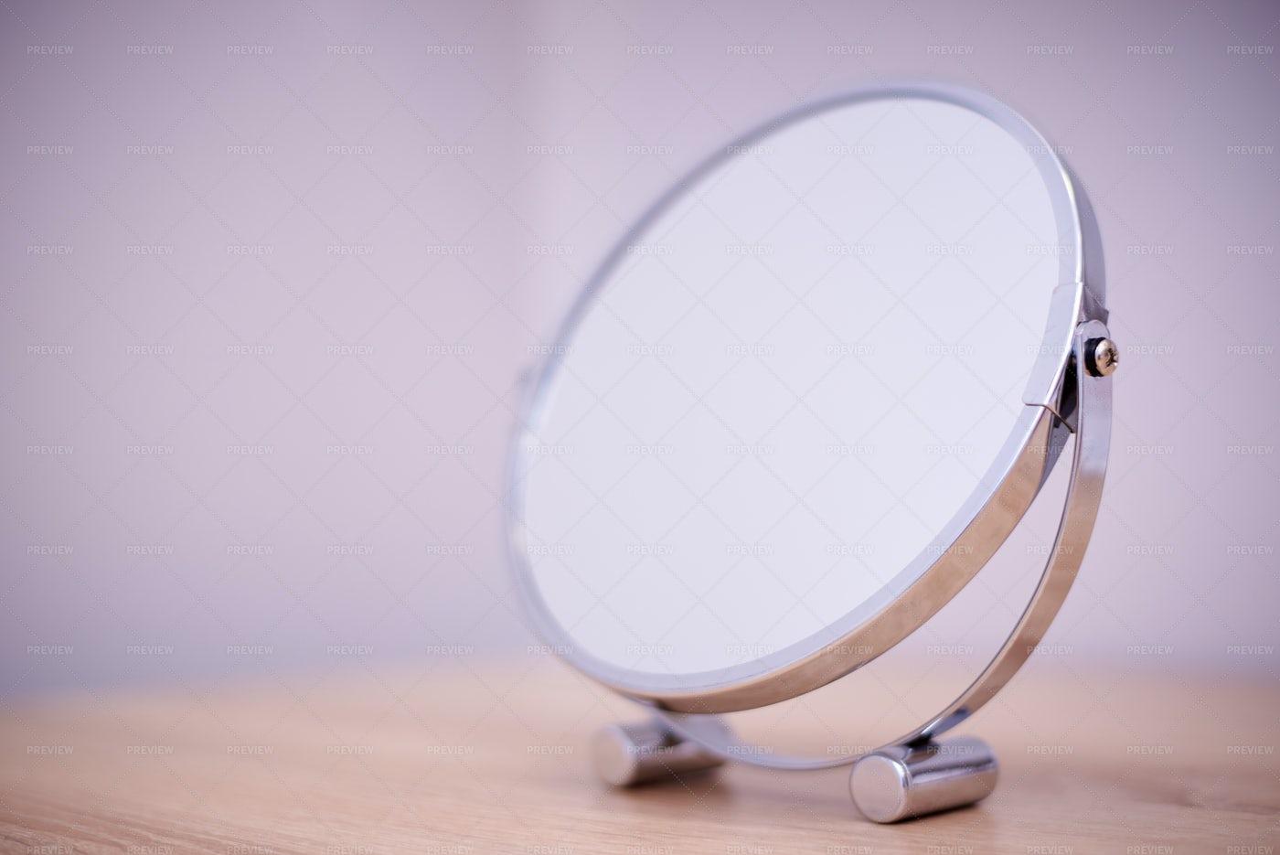 Mirror On A Shelf: Stock Photos