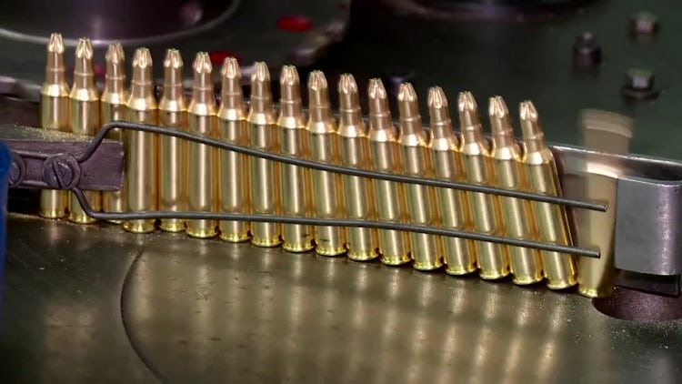 Factory Of Ammunition: Stock Video