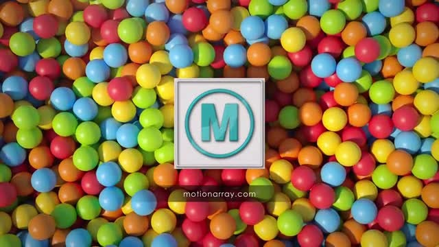 Balls Logo: After Effects Templates