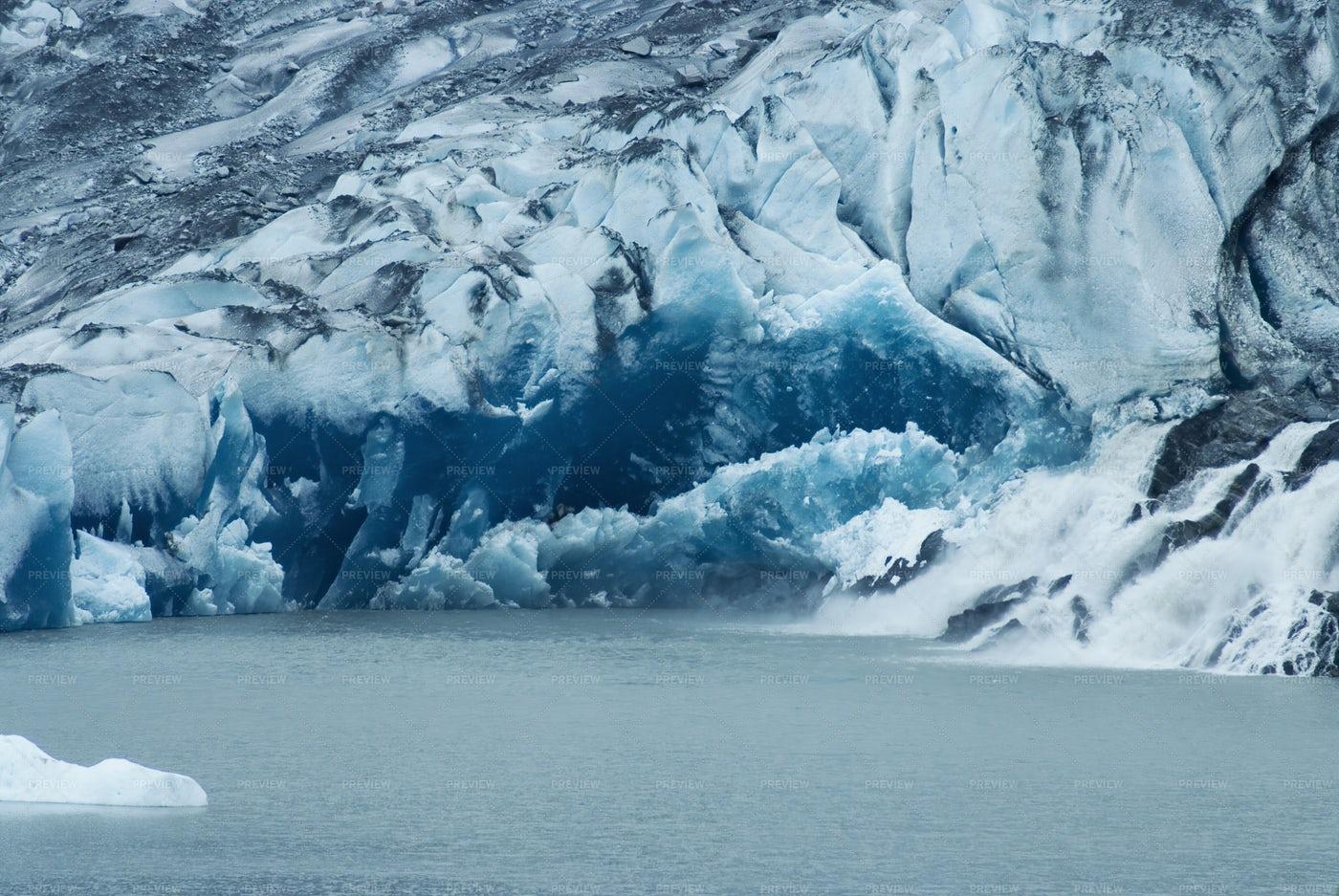 Mendenhall Glacier: Stock Photos