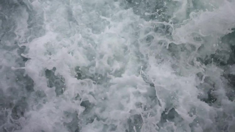 Sea Water Waves 1: Stock Video