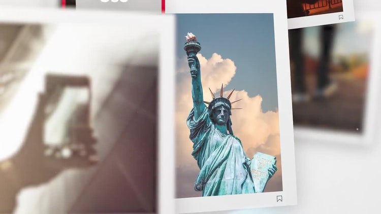 Square Photo - Premiere Slideshow: Premiere Pro Templates