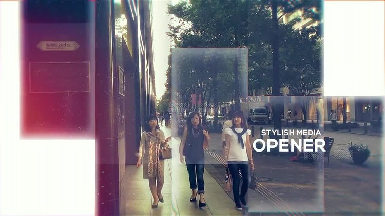 Inspired Glass Intro: After Effects Templates
