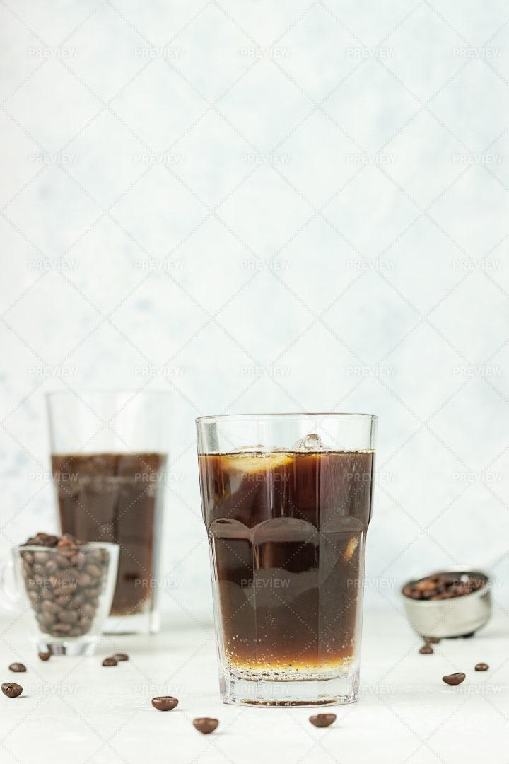 Espresso With Tonic: Stock Photos