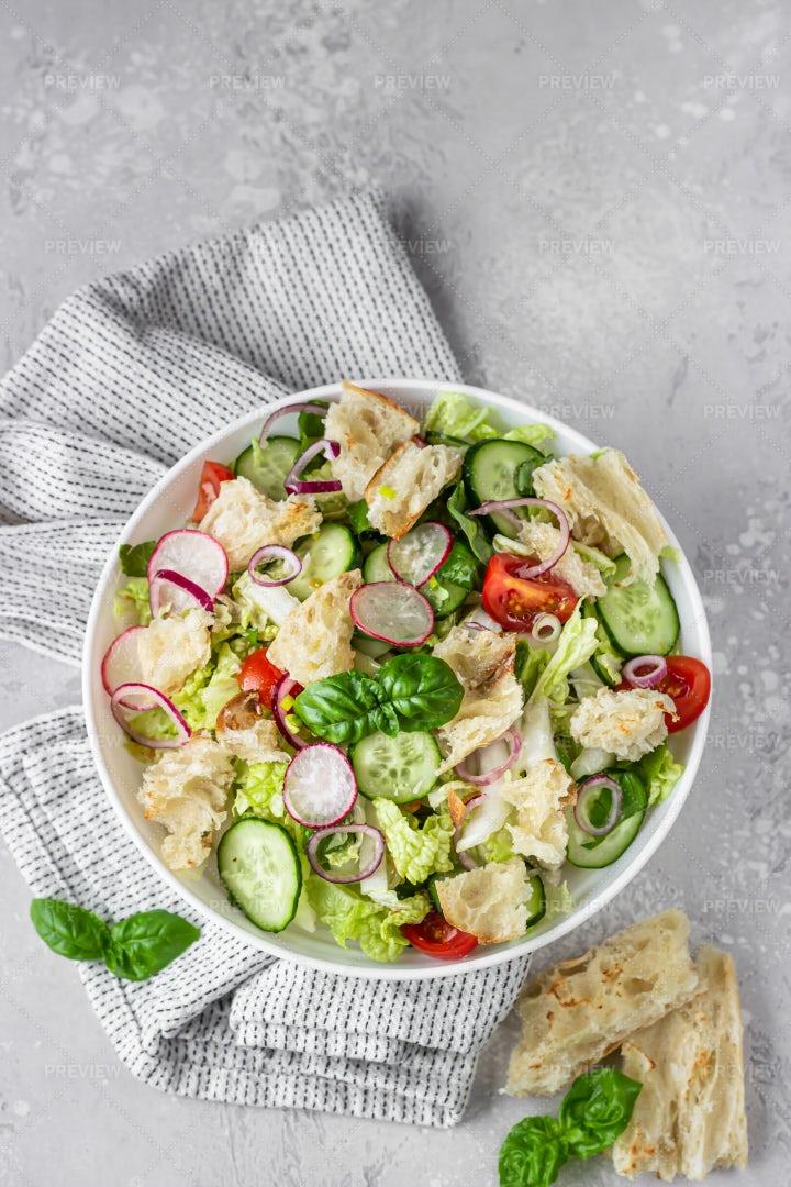 Fattoush Salad: Stock Photos