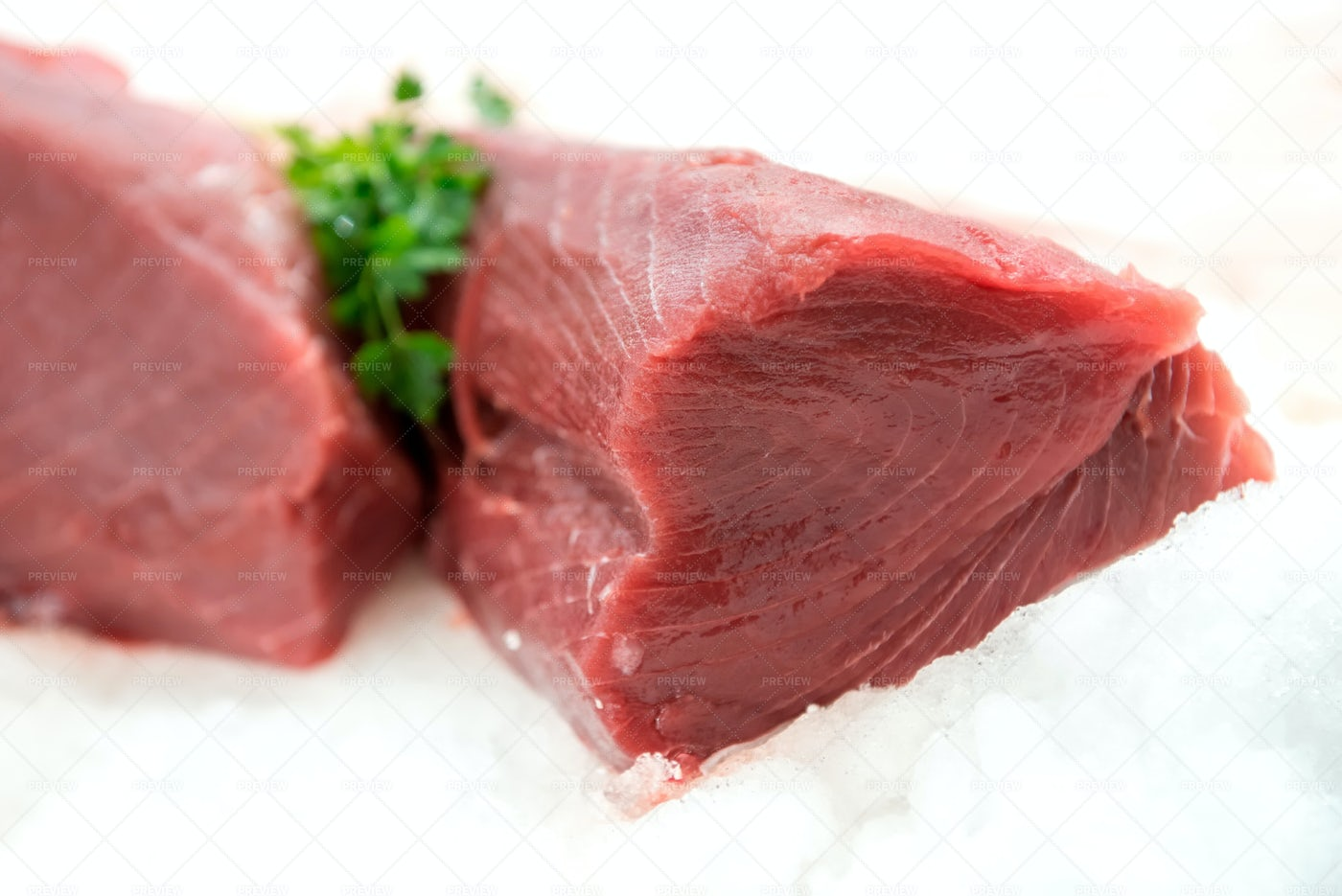 Fresh Raw Tuna: Stock Photos