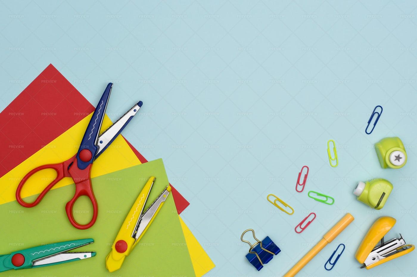 Preschool Education Background: Stock Photos