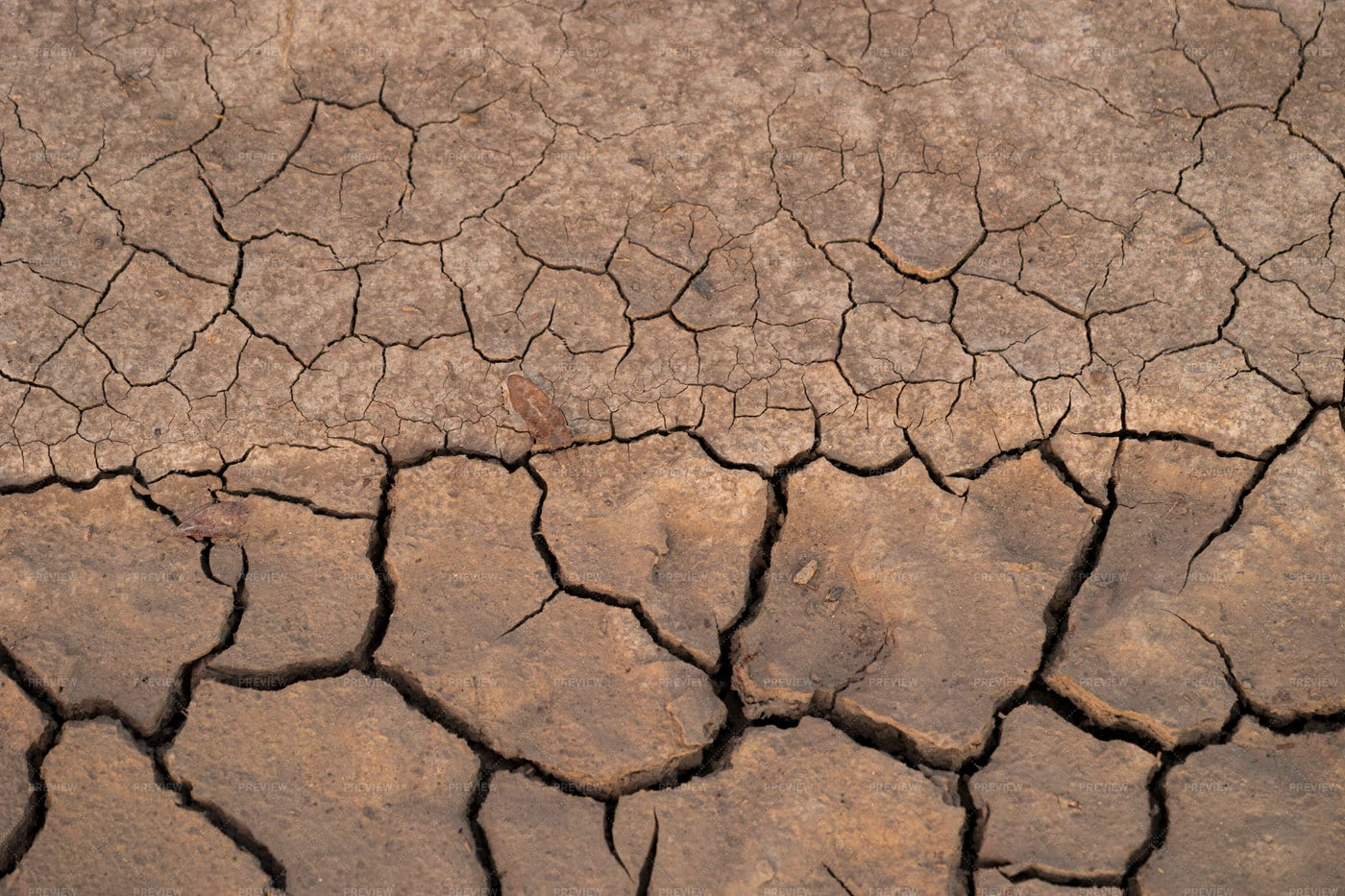 Cracked Red Soil: Stock Photos