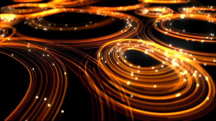 Elegant Golden Lines Background: Motion Graphics