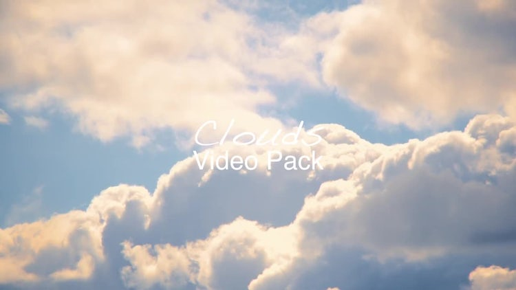 Clouds Video Pack: Stock Video