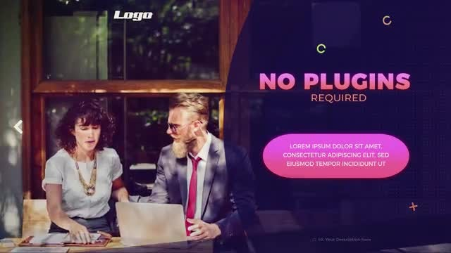 Colorful Business Promo: After Effects Templates