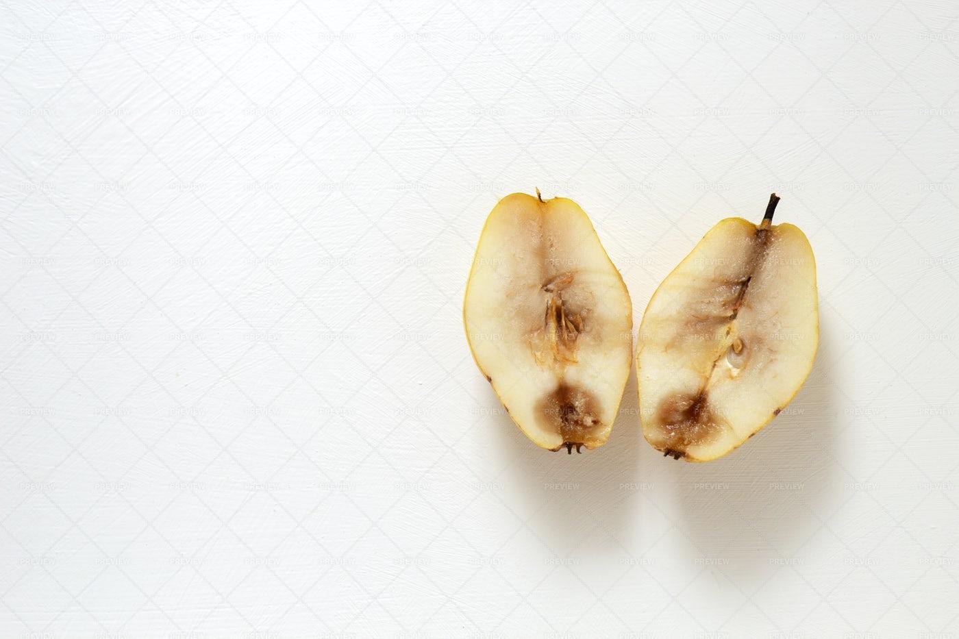 Spoiled Pear: Stock Photos