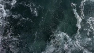 Sea Water Waves 4: Stock Video