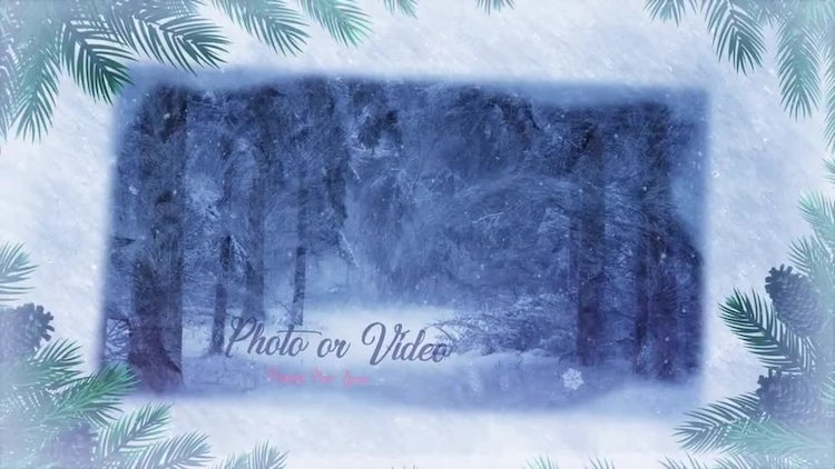 Winter Memories Slideshow: After Effects Templates