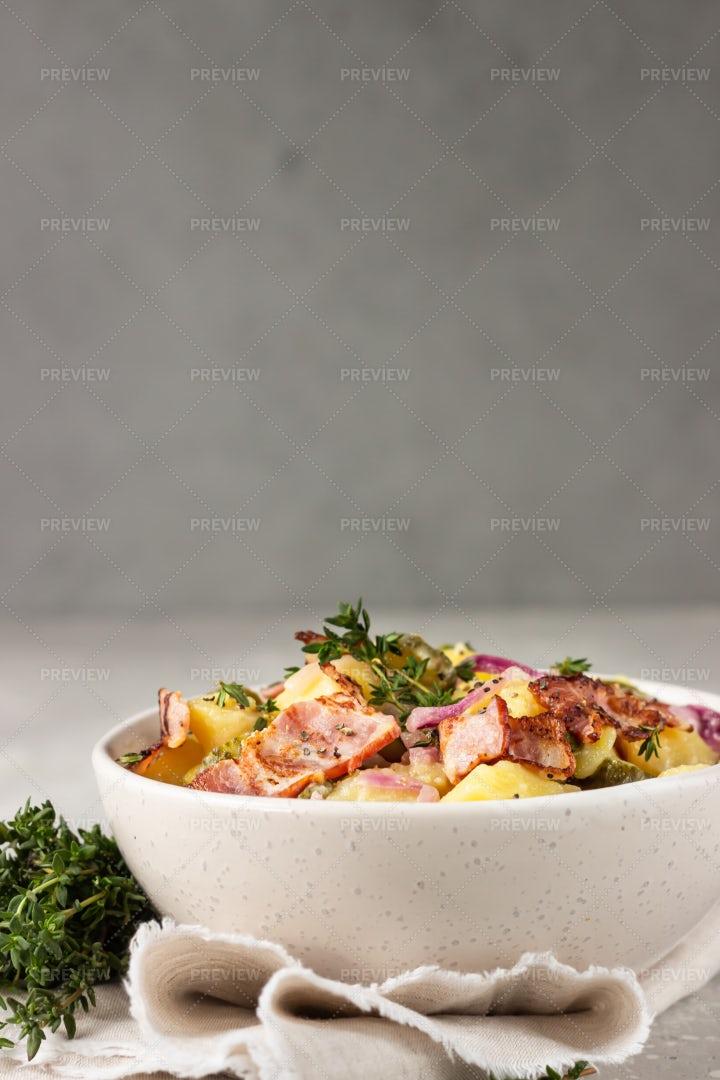 German Potato Salad: Stock Photos