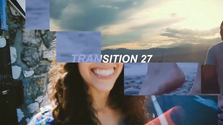 Box Transitions: Premiere Pro Templates