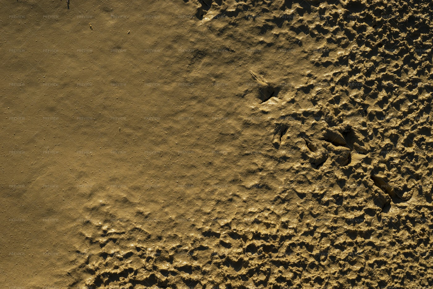 Mud Smoothing Out: Stock Photos
