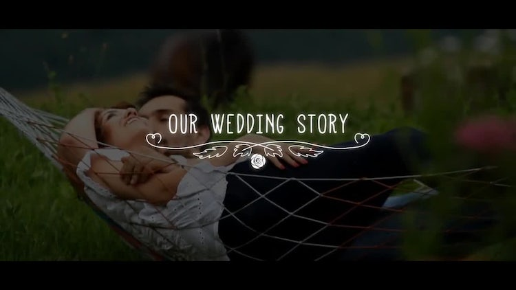 Wedding Titles: After Effects Templates