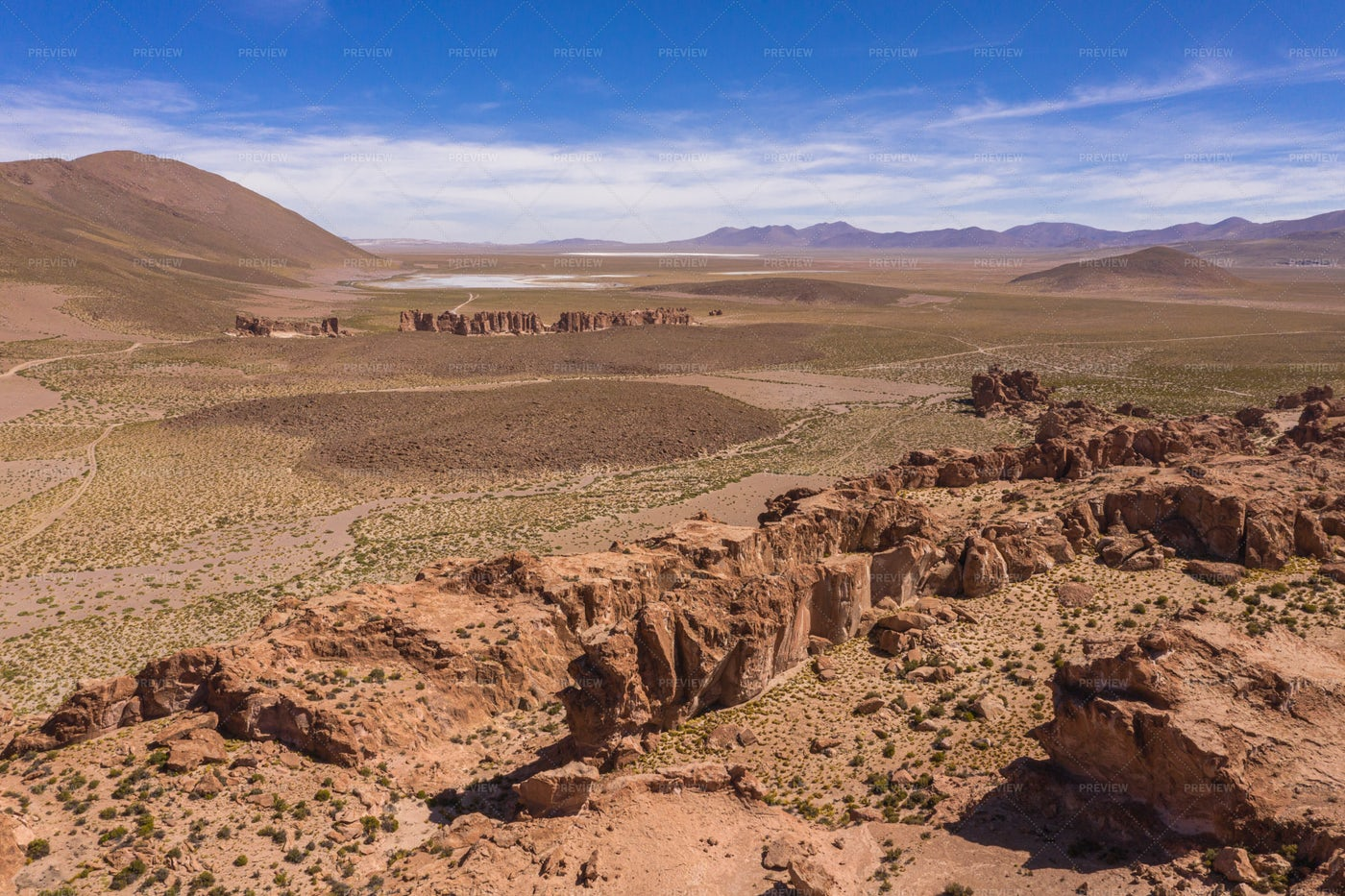 Dakar Canyons, Bolivia: Stock Photos
