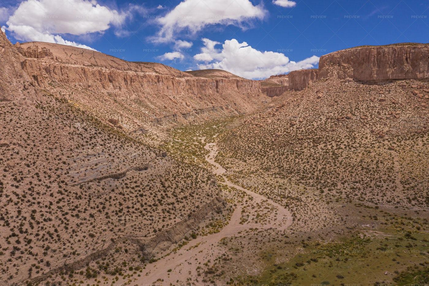 Inca Canyon, Bolivia: Stock Photos