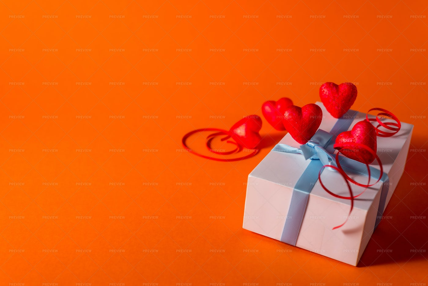 A Gift-Wrapped Present: Stock Photos