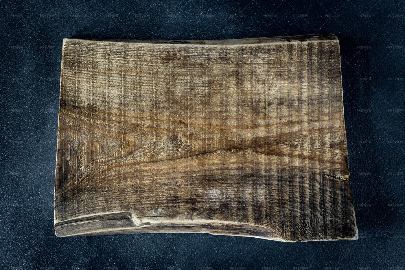 Vintage Chunk Of Wood: Stock Photos