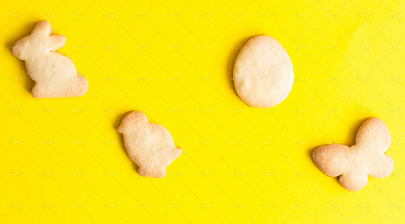Easter Cookies: Stock Photos