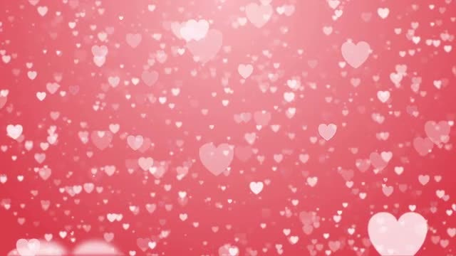 Hearts Background: Stock Motion Graphics