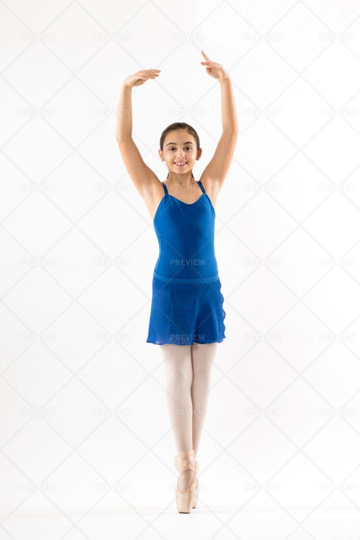 Young Ballerina Posing: Stock Photos